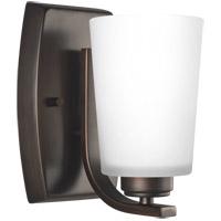 Bowery + Grove 52483-BSEW Broome 1 Light 5 inch Burnt Sienna Wall Bath Fixture Wall Light
