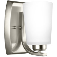 Bowery + Grove 52484-BNEW Broome 1 Light 5 inch Brushed Nickel Wall Bath Fixture Wall Light