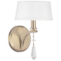 Bowery + Grove 55027-WGC Aleph 1 Light 7 inch Winter Gold Sconce Wall Light