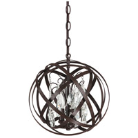 Bowery + Grove 55028-RI Gardenside Ln 3 Light 13 inch Russet Pendant Ceiling Light