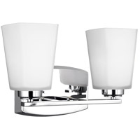Chrome Bisceglie Bathroom Vanity Lights