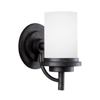 Bowery + Grove 52996-BSE Alba 1 Light 6 inch Blacksmith Wall Bath Fixture Wall Light