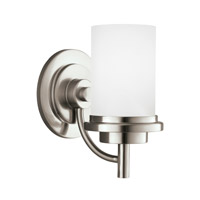 Bowery + Grove 52997-BNSE Alba 1 Light 6 inch Brushed Nickel Wall Bath Fixture Wall Light