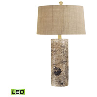 Bowery + Grove 54482-NL Asher 30 inch 9.5 watt Natural Table Lamp Portable Light in LED