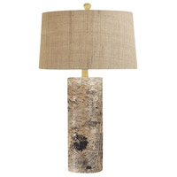 Bowery + Grove 54457-N Asher 30 inch 100 watt Natural Table Lamp Portable Light in Incandescent