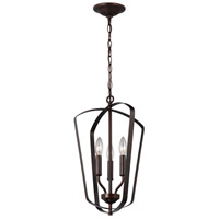 Bowery + Grove 53401-HBL Barrett LED 13 inch Heirloom Bronze Hall Foyer Ceiling Light