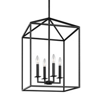 Bowery + Grove 51333-B East Point 4 Light 12 inch Blacksmith Foyer Light Ceiling Light