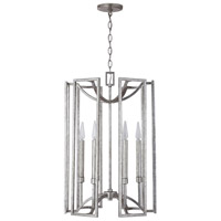 Antique Silver Foyer Pendants