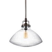 Bowery + Grove 51020-HBCS Luca 1 Light 13 inch Heirloom Bronze Pendant Ceiling Light