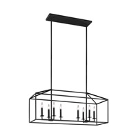 Bowery + Grove 51351-B East Point 8 Light 40 inch Blacksmith Island Pendant Ceiling Light