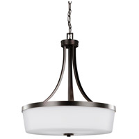 Bowery + Grove 52604-BSEW Buffalo Gap 3 Light 19 inch Burnt Sienna Pendant Ceiling Light