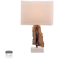 Bowery + Grove 50021-NL Grace Ave 28 inch 60 watt Natural Table Lamp Portable Light in Dimmer Hue LED Philips Friends of Hue
