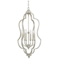 Bowery + Grove 55105-AS Luke 6 Light 18 inch Antique Silver Foyer Ceiling Light