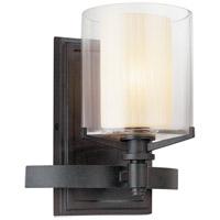 Bowery + Grove 51190-FI Imola 1 Light 8 inch French Iron Bath Vanity Wall Light