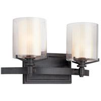 Bowery + Grove 51191-FI Imola 2 Light 15 inch French Iron Bath Vanity Wall Light