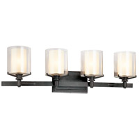 Bowery + Grove 51193-FI Imola 4 Light 30 inch French Iron Bath Vanity Wall Light