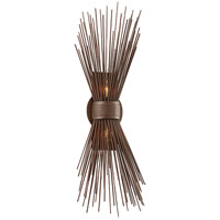 Bowery + Grove 51414-TB Audio 2 Light 9 inch Tidepool Bronze Wall Sconce Wall Light