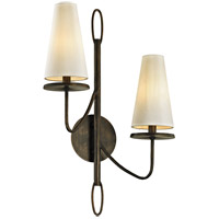 Bowery + Grove 53089-PBI Arbuckle Ave 2 Light 15 inch Pompeii Bronze Wall Sconce Wall Light