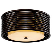 Bowery + Grove 55283-EOWL Tyson LED 16 inch Espresso Semi Flush Ceiling Light