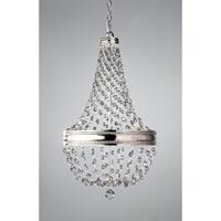 Bowery + Grove 50964-PN Allenfarm 6 Light 16 inch Polished Nickel Chandelier Ceiling Light