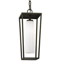 Bowery + Grove 55234-TBOW Harlequin 1 Light 8 inch Textured Black Outdoor Pendant