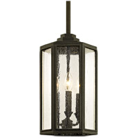 Bowery + Grove 55233-VBCS Bulverde 3 Light 9 inch Vintage Bronze Outdoor Pendant