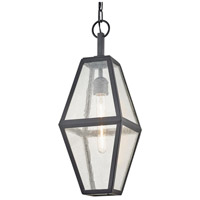 Bowery + Grove 58357-VBSI Arizona Pl 1 Light 8 inch Vintage Bronze Pendant Ceiling Light