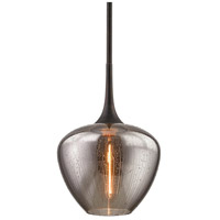 Bowery + Grove 55298-VBSI Greystones 1 Light 13 inch Vintage Bronze Pendant Ceiling Light