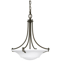 Bowery + Grove 55341-OROE Greyhawk Pl 3 Light 18 inch Oil Rubbed Bronze Pendant Ceiling Light