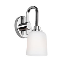 Bowery + Grove 51235-CWO Grand Canal Ct 1 Light 6 inch Chrome Vanity Light Wall Light