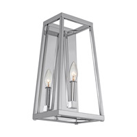 Bowery + Grove 51245-C Des Moines 1 Light 8 inch Chrome Vanity Light Wall Light