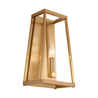 Bowery + Grove 51246-GS Des Moines 1 Light 8 inch Gilded Satin Brass Vanity Light Wall Light