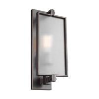 Bowery + Grove 51247-ABTS Glennie Ln 1 Light 7 inch Antique Bronze Vanity Light Wall Light