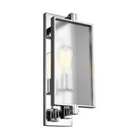Bowery + Grove 51248-CTS Glennie Ln 1 Light 7 inch Chrome Vanity Light Wall Light