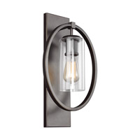 Bowery + Grove 51249-ABCG Avoca 1 Light 11 inch Antique Bronze Vanity Light Wall Light