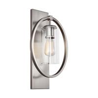 Bowery + Grove 51250-CCG Avoca 1 Light 11 inch Chrome Vanity Light Wall Light