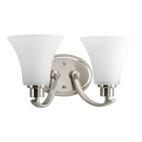 Bowery + Grove 51843-BNE Athy 2 Light 14 inch Brushed Nickel Bath Vanity Wall Light in Etched