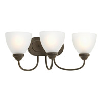 Bowery + Grove 51919-ABE Armstrong 3 Light 22 inch Antique Bronze Bath Vanity Wall Light