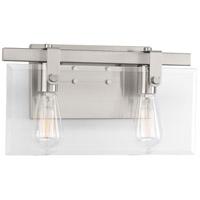 Bowery + Grove 53291-BNCI Guthrie 2 Light 15 inch Brushed Nickel Bath Vanity Wall Light Design Series