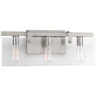 Bowery + Grove 53293-BNCI Guthrie 3 Light 23 inch Brushed Nickel Bath Vanity Wall Light Design Series