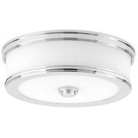 Bowery + Grove 55244-PCEW Green Ave LED 11 inch Polished Chrome Flush Mount Ceiling Light Progress LED