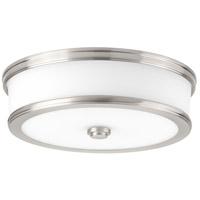 Bowery + Grove Bezel LED LED 13 inch Brushed Nickel Flush Mount Ceiling Light