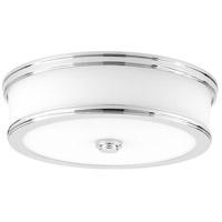 Bowery + Grove 52320-PCEW Green Ave LED 13 inch Polished Chrome Flush Mount Ceiling Light Progress LED