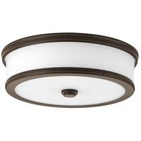 Bowery + Grove Bezel LED LED 13 inch Antique Bronze Flush Mount Ceiling Light