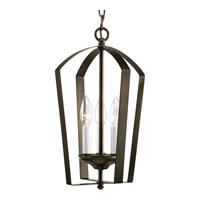 Bowery + Grove 51601-AB Crotone 3 Light 10 inch Antique Bronze Hall & Foyer Ceiling Light