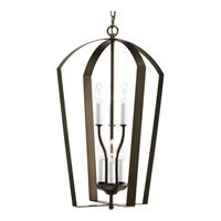 Bowery + Grove 51559-AB Crotone 6 Light 15 inch Antique Bronze Hall & Foyer Ceiling Light