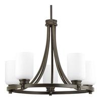 Bowery + Grove 51517-ABEO Graford 5 Light 23 inch Antique Bronze Chandelier Ceiling Light