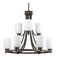 Bowery + Grove 51519-ABEO Graford 9 Light 27 inch Antique Bronze Chandelier Ceiling Light