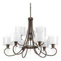 Bowery + Grove 51530-ABW Gladden Pl 9 Light 36 inch Antique Bronze Chandelier Ceiling Light
