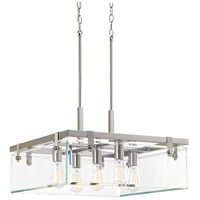 Bowery + Grove 53262-BNCI Guthrie 5 Light 23 inch Brushed Nickel Pendant Ceiling Light Design Series